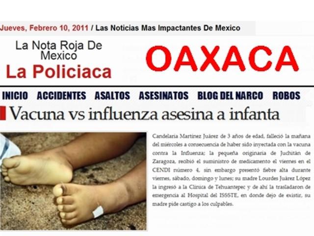 CANDELARIA OAAXACA AH1N1