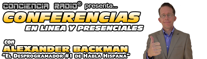 CONFERENCIAS EN LINEA CON ALEXANDER BACKMAN