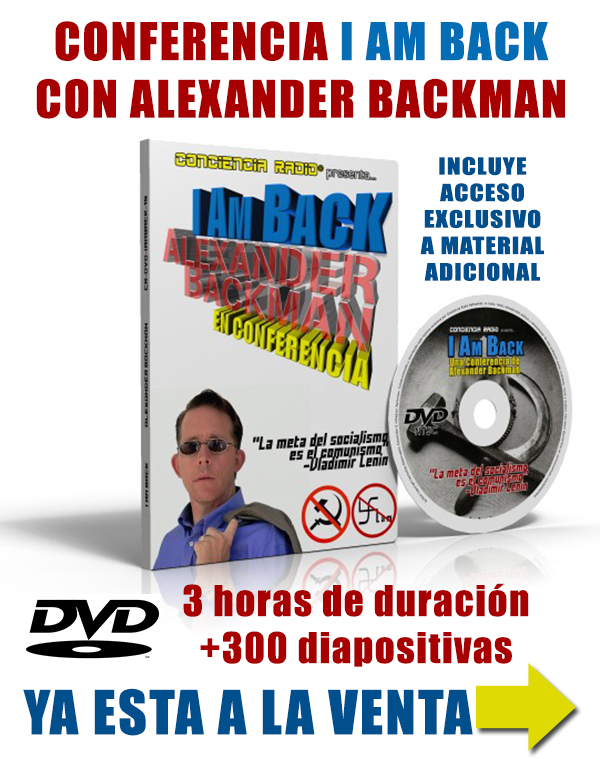 I AM BACK DVD ALEXANDER BACKMAN