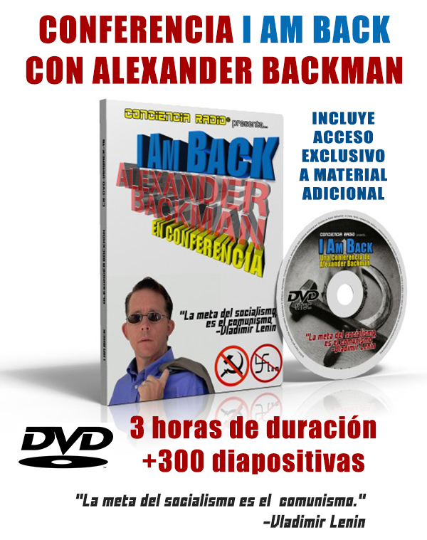 DVD CONFERENCIA I AM BACK CON ALEXANDER BACKMAN