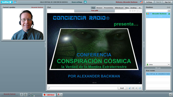 SALA VIRTUAL DE CONCIENCIA RADIO