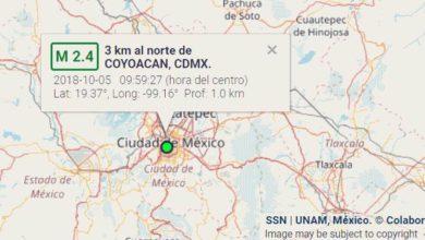 Photo of ¿SE PUEDEN SENTIR LOS SISMOS DE MAGNITUD M2.0-M2.7 EN LA CIUDAD DE MÉXICO?