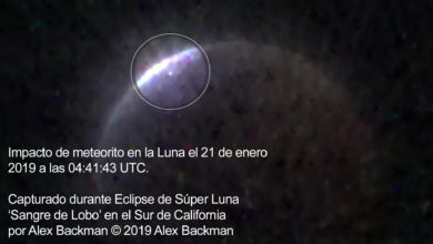 Photo of UN METEORITO IMPACTÓ LA LUNA DURANTE EL ECLIPSE LUNAR, Y ESTÁ EN VIDEO