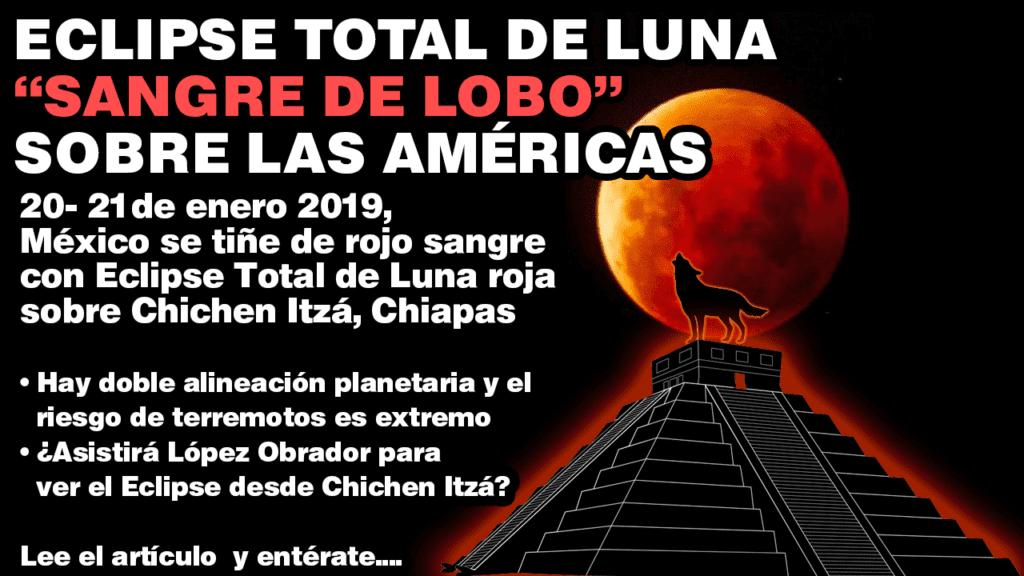 M 233 Xico Se Ti 241 E De Sangre Con Eclipse Total De Luna Roja