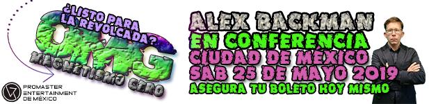 CONFERENCIA 0 MAG CON ALEX BACKMAN