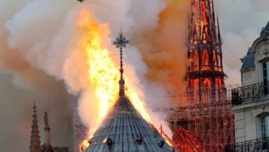 Photo of CATEDRAL DE NOTRE DAME ARDE EN LLAMAS