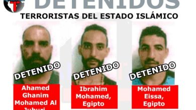 Photo of DETENIDOS, LOS TRES TERRORISTAS DE ISIS QUE IBAN A INGRESAR A MÉXICO