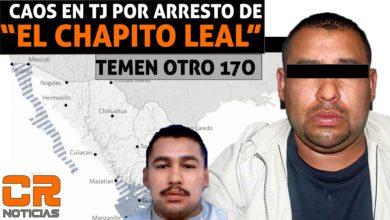 """Photo of Tijuana, México: Detienen a Octavio Leal Hernández alias el """"Chapito Leal"""""""